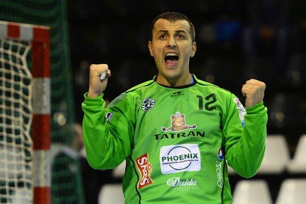 Svetislav Verkič bol v nedeľu večer prešovským hrdinom.