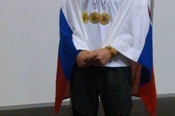 Michal Girášek. V Budapešti exceloval.