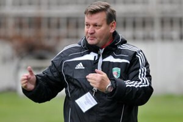 Ladislav Totkovič. Tréner Tatrana Prešov bol rád, že mužstvo v záverečných dvoch dueloch ukázalo charakter.