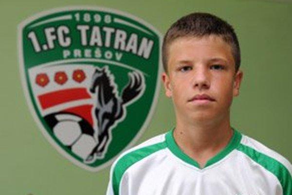 Objav roka: Matúš Marcin (1.FC Tatran Prešov futbal)
