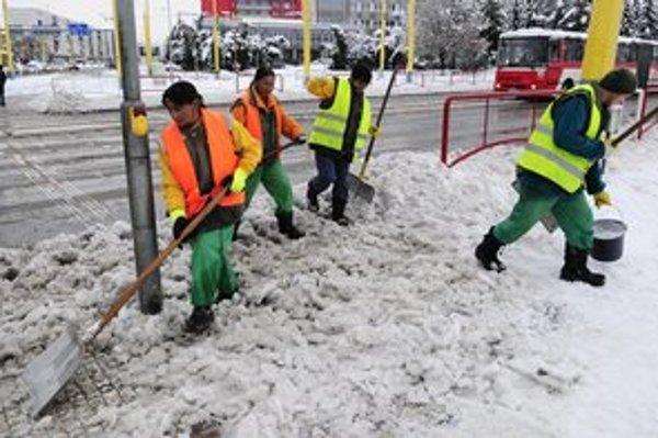 Prešov snehovú kalamitu zvládol.