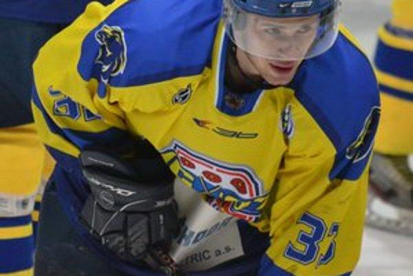 Už minulosťou. Je pre Patrika Wesselényiho prešovský hokejový dres.