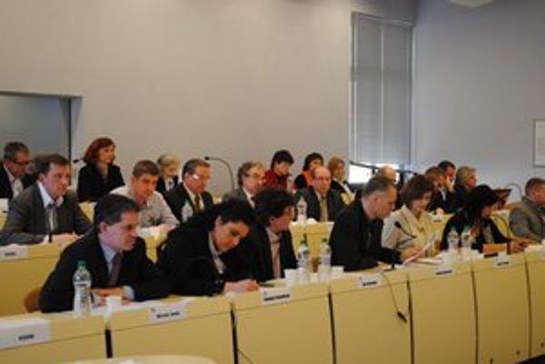 Poslanci. Za uznesenie o členoch v orgánoch TsMP hlasovali dokonca dvakrát.