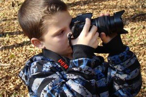 Projekt Mladý fotograf má u detí veľký úspech.