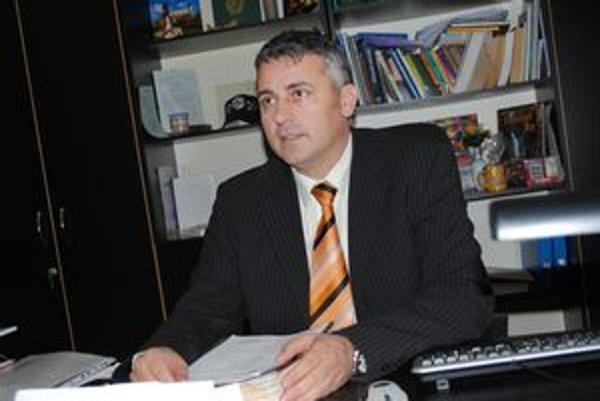 Ján Andrejko. Náčelník MsP v Prešove.