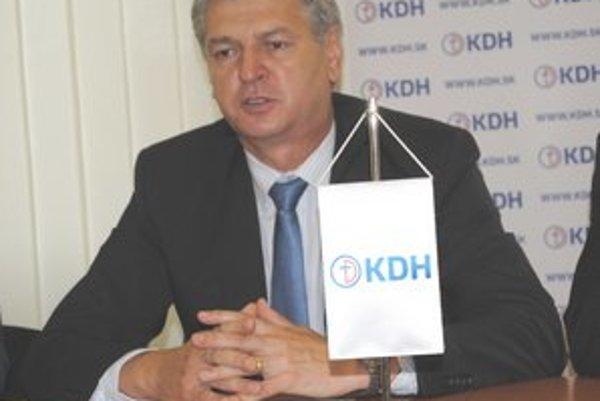 Ján Hudacký. Poslanec NR SR za KDH.
