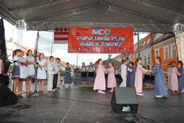 Deň detí v Prešove. Oslavovali ho napriek zlému počasiu.