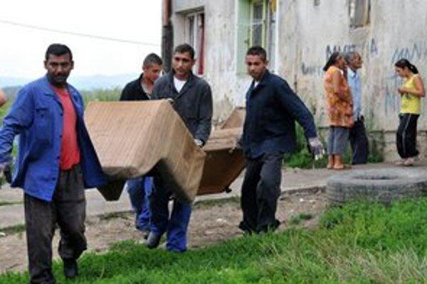 Pred niekoľkými dňami v Prešove deložovali neplatičov, mesto teraz zakročilo aj proti nelegálnym osadám.