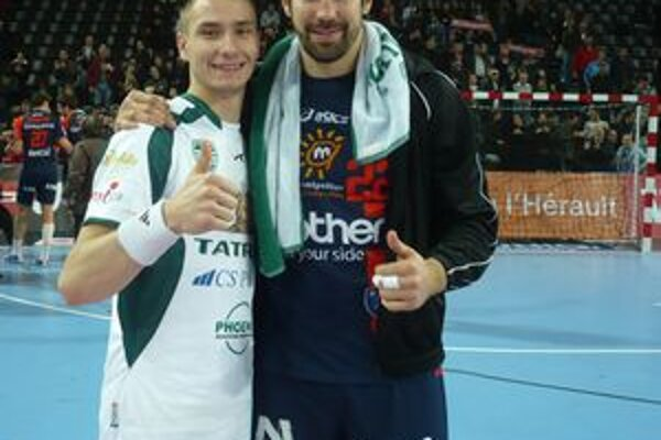 Talent s hviezdou. Dominik Krok, v Montpellieri s hviezdnym Nikolom Karabatičom, si slovenské finále nezahrá.
