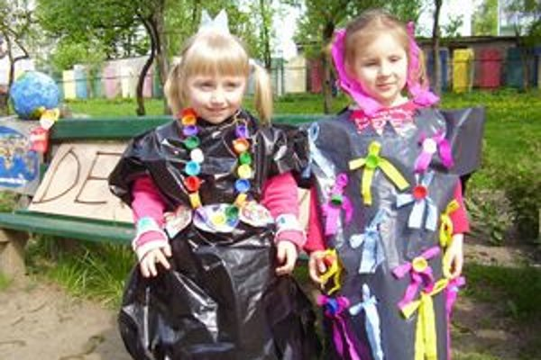 Zelená škola. Škôlkari sa zapojili do Dňa Zeme.