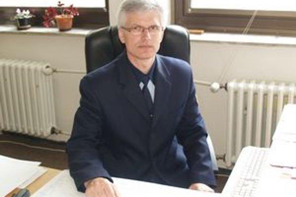 Jozef Baran, náčelník MsP vo Vranove.