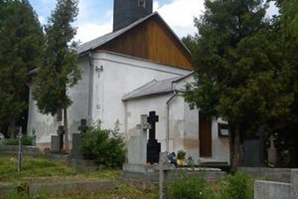 Kaplnka, v ktorej majú gréckokatolíci obrady. Chcú nový chrám.