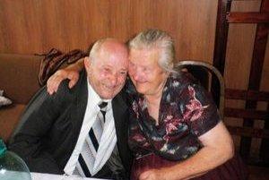 Jozef a Zuzana Katuškovci. Žijú spolu už 60 rokov.