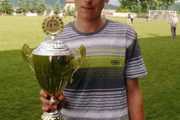 Tomáš Šitár. Najrýchlejší účastník dostal cenu Olympijského klubu regiónu Prešov aj cenu Víťaza veľkošarišskej župy.