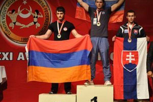 Dominik Glod. Na šampionáte v Turecku skončil tretí.