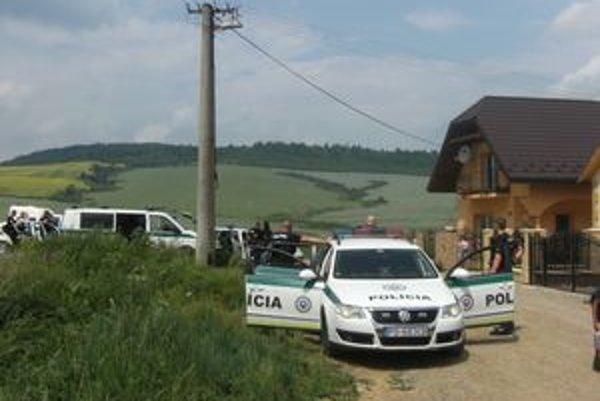 Zásah polície v Jarovniciach.