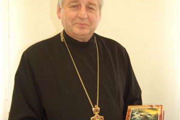 Arcibiskup Ján Babjak. Zostavil knihu s hrdinskými osudmi gréckokatolíckych kňazov.