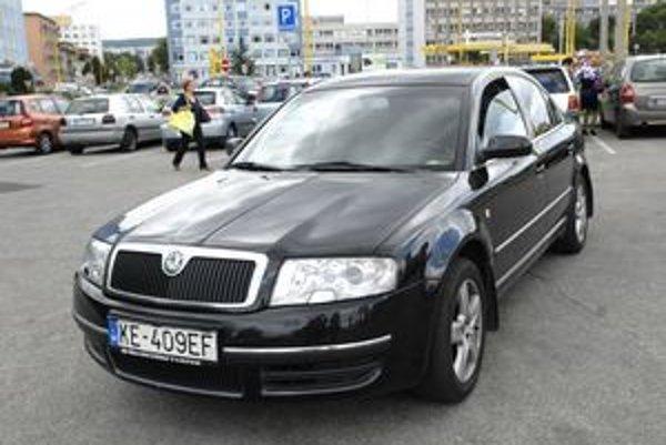 Škoda Superb Comfort, na ktorej jazdí košický primátor Richard Raši.