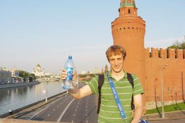 Jozef Janoško v Moskve. Jazykový kurz v Rusku absolvoval dvakrát.