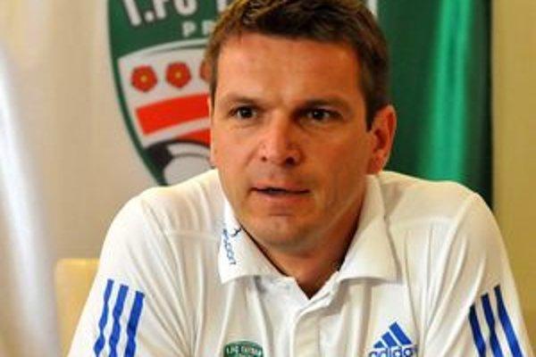 Tréner Štefan Tarkovič.