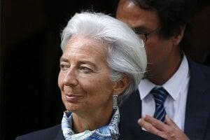 Christine Lagardeová, riaditeľka Európskej centrálnej banky.