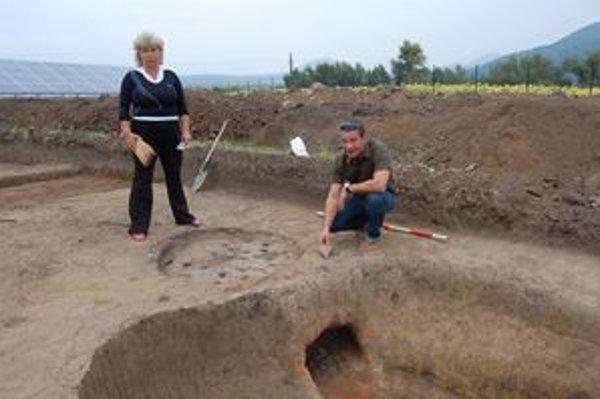 Pec z 3. storočia. Archeológovia Tomášová a Comotti ju považujú za významný objav.