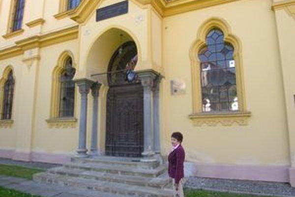 Prešovská synagóga je jedna z mála zachovaných židovských pamiatok v meste.
