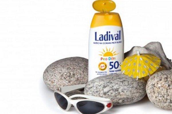 V teste detských opaľovacích prípravkov zvíťazil Ladival.