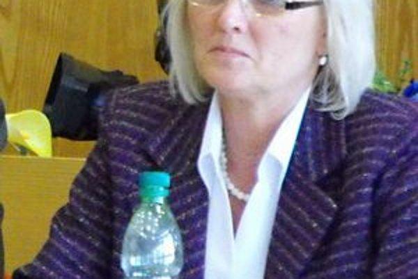 Mária Tužáková. Hlavná kontrolórka mesta.