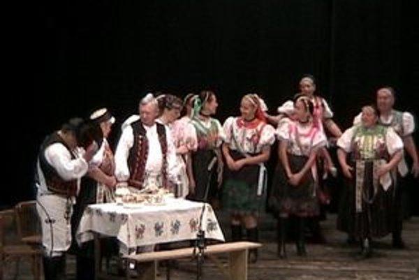 FS Šomka z Drienice. Získali zlaté pásmo a stali sa laureátom Krásy života.
