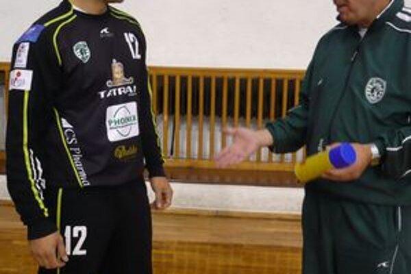 Svetislav Verkič. S výkonmi nového brankára je spokojný aj šéf klubu Miloslav Chmeliar.
