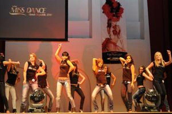 Miss Dance. Tanečnice sa hodia aj na súťaže krásy.