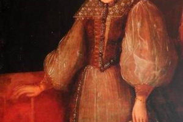 Portrét Alžbety Báthory.