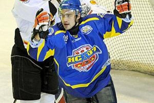 Strieľajúci obranca V. Sabol zaťažil konto Záhorákov dvomi gólmi.