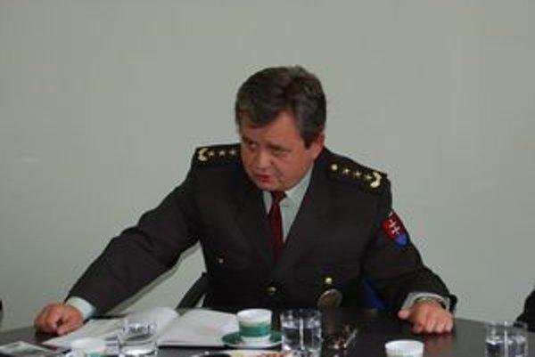 Nový prešovský krajský policajný riaditeľ Jozef Seman.