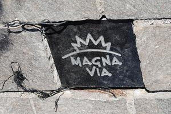 Dlaždica. Magna via už je aj v Prešove.