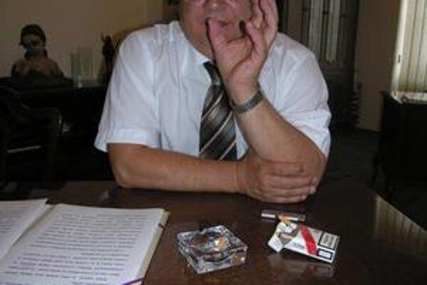 Boris Hanuščak. Opäť zasadne na primátorský stolec.