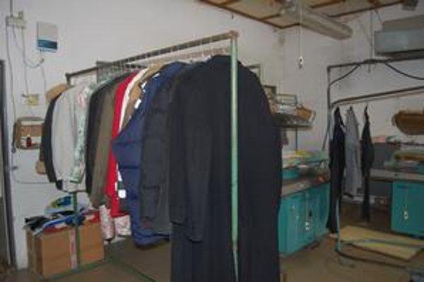 Čistiareň. Prešovčania ju najčastejšie využívajú na čistenie oblekov.
