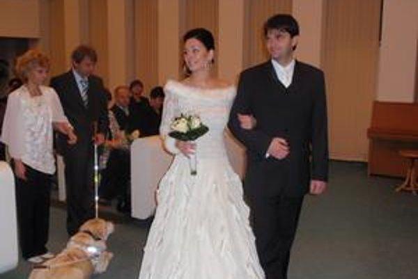 Eva a Jozef Hromjakovci. Pred uzavretím manželstva spolu chodili osem rokov.