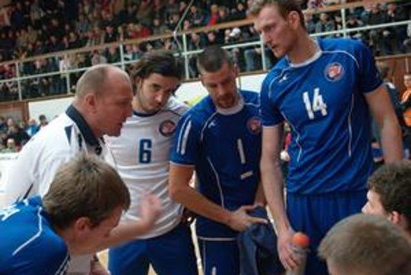 Jaroslav Vlk. Svidnícky tréner mal svojim zverencom čo povedať.