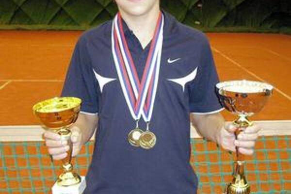 Prešovský tenisový talent bodoval.