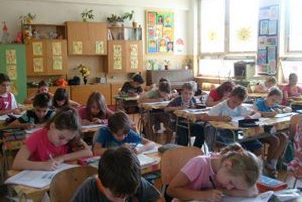 Piataci. Do primy na osemročných gymnáziách sa dostane viac nadaných detí.
