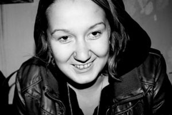 Zaki. Mladá dramatička a dramaturgička Michaela Zakuťanská.