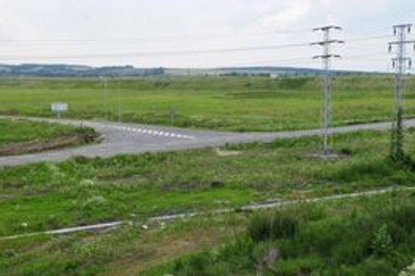 Ďalšie pozemky v priemyselnom parku Záborské budú kupovať investori.