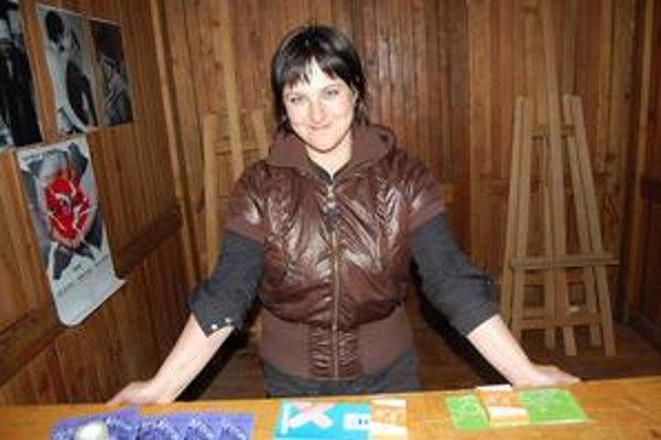 Lívia Keseličková. Prezentovala aktivity na podporu odstraňovania rodových stereotypov.