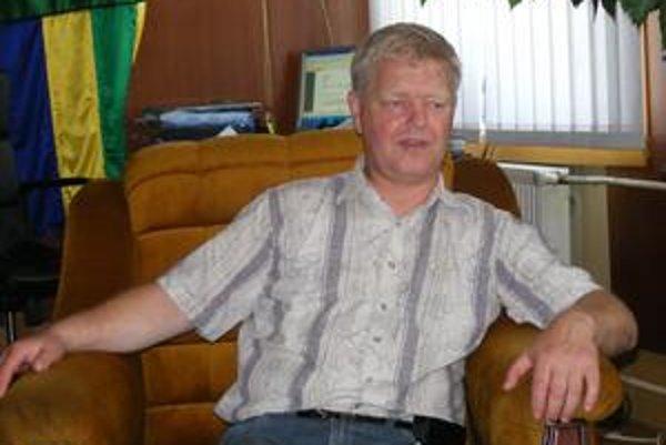Starosta obce. Ján Lenko.