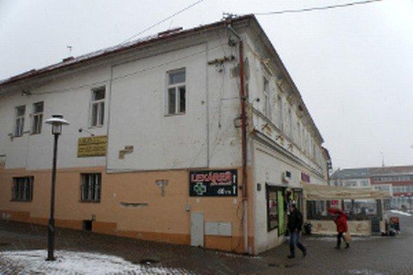Rekonštrukcia čaká budovu, ktorá je známa hlavne ako dom služieb.
