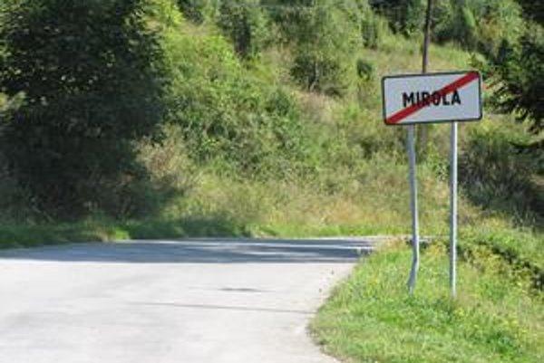 Miroľa. Polícia vydá v najbližších dňoch súhlasné stanovisko na osadenie dopravných značiek.