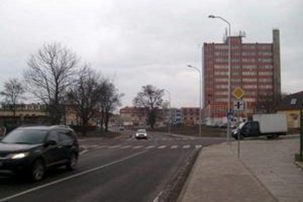 Prešov. Remscheidská ulica bude na Okružnej v smere od križovatky na Levočskej.