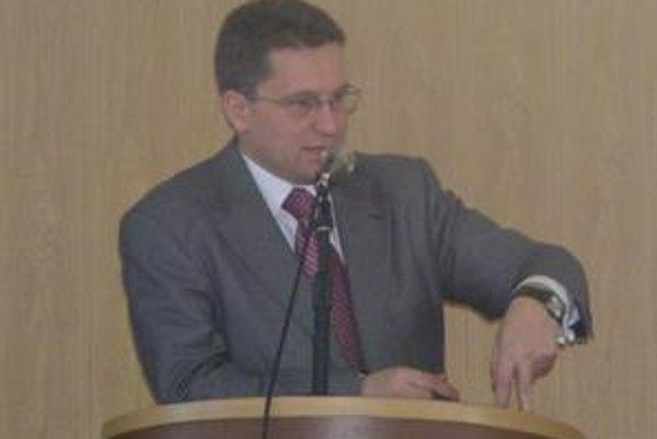 Jaroslav Ivančo. Tvrdí, že rozpočet je volebný.